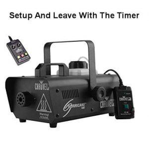smoke machine hire Perth with timer