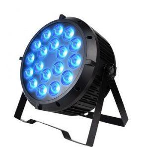 18 X 18 WATT LED DJ LIGHT HIRE PERTH