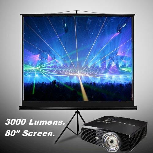screen-n-projector