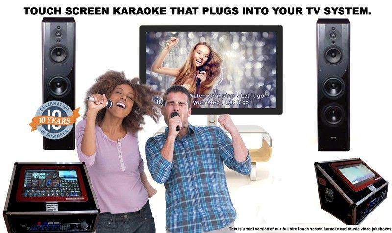 Cheap Touch Screen Karaoke machine Hire Perth