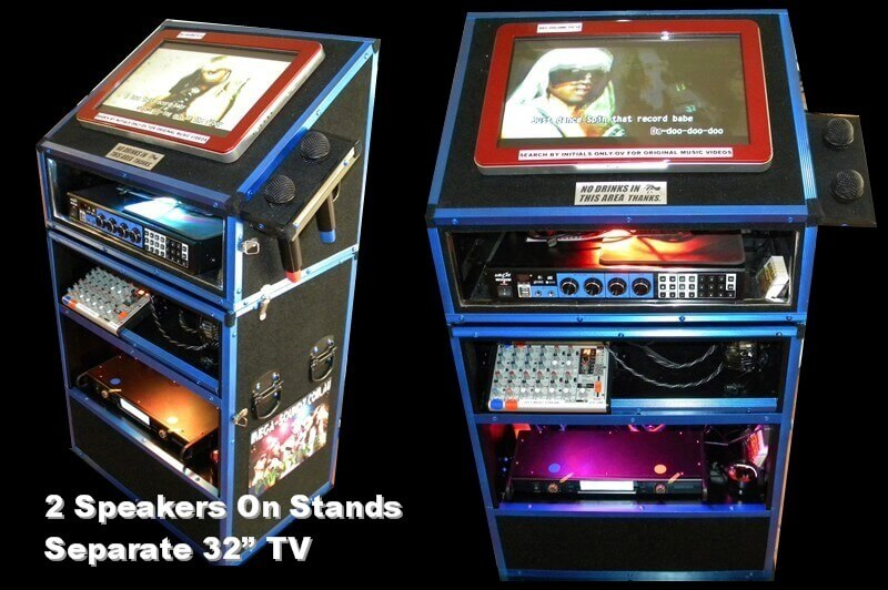 2 Part Jukebox Hire Ideal For Venues With Stair ACCESS ONLY