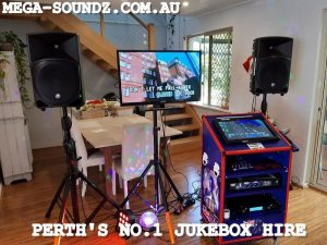 Christmas karaoke jukebox hire Perth