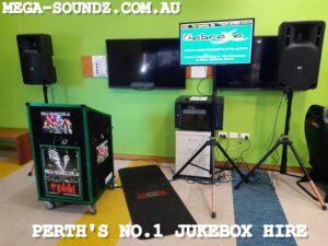 Computer karaoke machine jukebox hire Perth