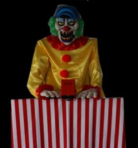Evil Clown Prop Hire Perth-Mega-Soundz