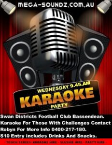 Karaoke party Wednesdays Perth